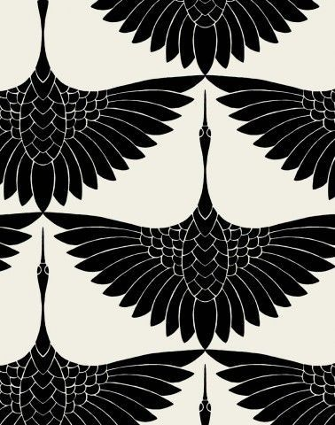 flighing black birds