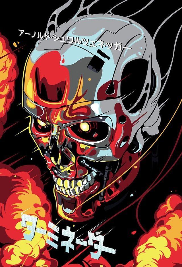 exterminador do futuro, em http://www.samuelho.com/