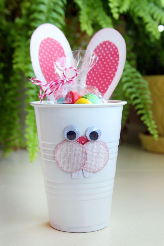 dulceros con vasos desechables2