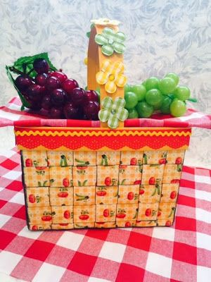 Crafting Passions: Update and Exploding Picnic Basket Mini Album
