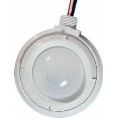 Hubbell HMHB21UPCW Watertight High Bay Occupancy Sensor; Passive Infrared Sensor, Relay with Photocell, 120-347V AC