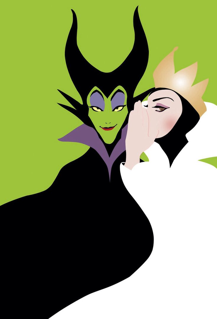 Disney villains: Wicked reference