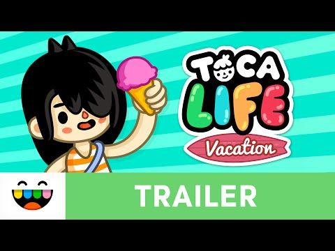 SpeechTechie- Technology, Apps and Lessons for SLPs and Teachers who like Words: Enter Vacation Mode with Toca Life: Vacation!