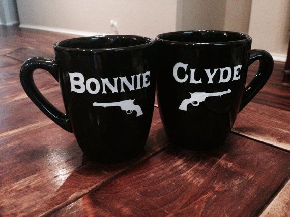 Bonnie and Clyde Ride or Die Set of by FarmToMarketStudio on Etsy, $35.00