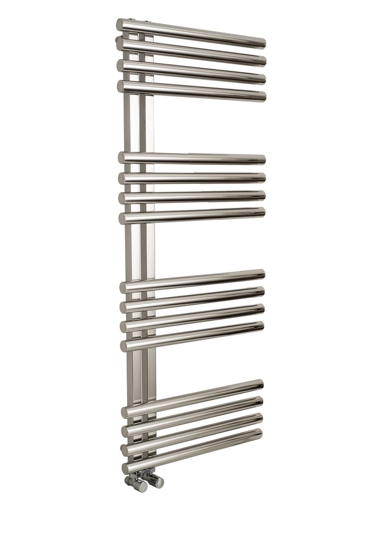 Introducing the Apollo Garda Offset polished Stainless Steel Towel Rail, in which has a modern design suitable for bathrooms and kitchens alike. With its polished stainless steel finish, it can really bring out the best of a room. Available in central heating, electric or dual fuel options. Comes with a complete 5 year guarantee. Prices from £540.00!
