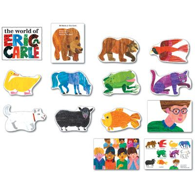 Eric Carle bulletin board set $14.I think it would be wrong for me to leave my profession and become a teacher just to have an Eric Carle bulletin board. LOL   ...but I would love every minute of it.
