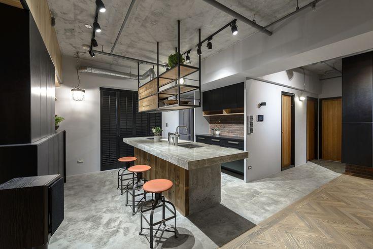 28坪打造一個復古工業風的家 @ 室內設計 IN 蘆竹 | 裏心空間設計 - 室內設計,空間攝影 RSI+2 interior
