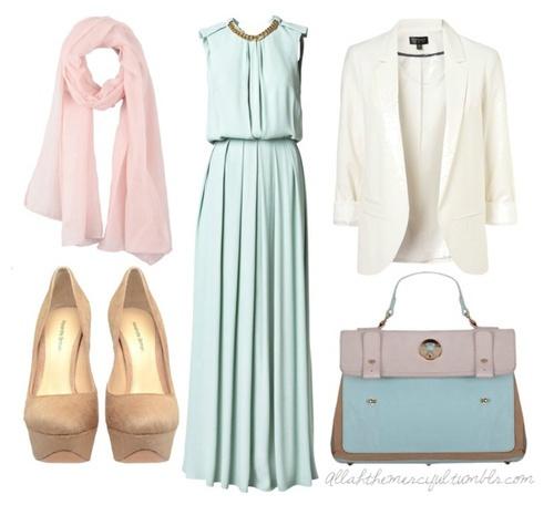 #Hijab #Pastels #Modest