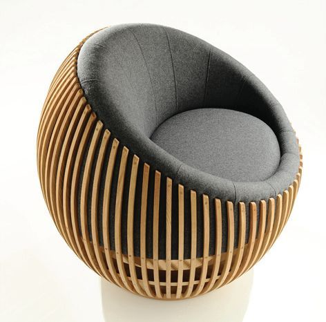 """designer seat: half Globe """"Motley III Collection"""" by Samuel Chan for Channels"""