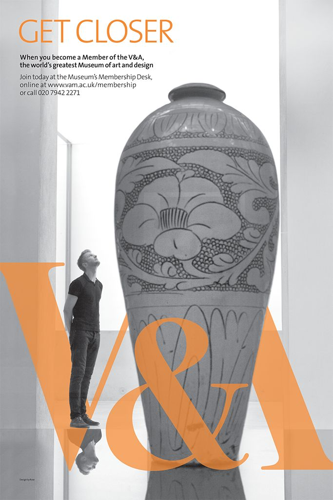 """THE VICTORIA AND ALBERT MUSEUM (V&A Museum): """"V&A MEMBERSHIP POSTERS"""" Design & Branding by Rose - Google Search"""