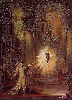 Gustave Moreau, L'apparizione, 1876, olio su tela, Musèe Gustave Moreau, Parigi
