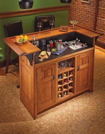 Craftsman-Style Bar | Woodsmith Plans
