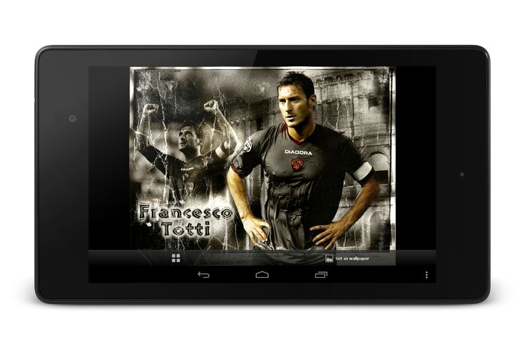 Francesco Totti The King Of Rome Free Android App - Screenshot 2