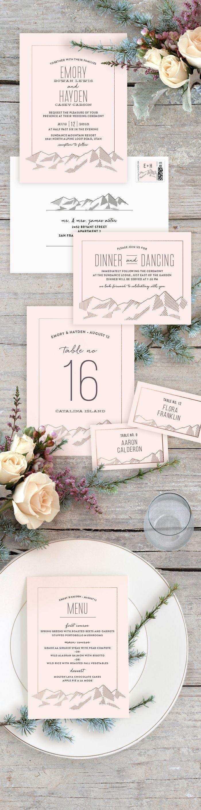 64 Best Wedding Invitations Stationery Images On Pinterest