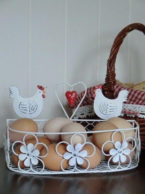 109 best Egg Baskets, & Holders images on Pinterest | Hens, Cooking ...