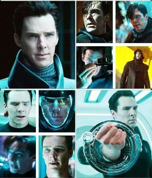 KHAN!!! ~ Benedict Cumberbatch. My heart is all a flutter everytime I see the first Khan scene ❤