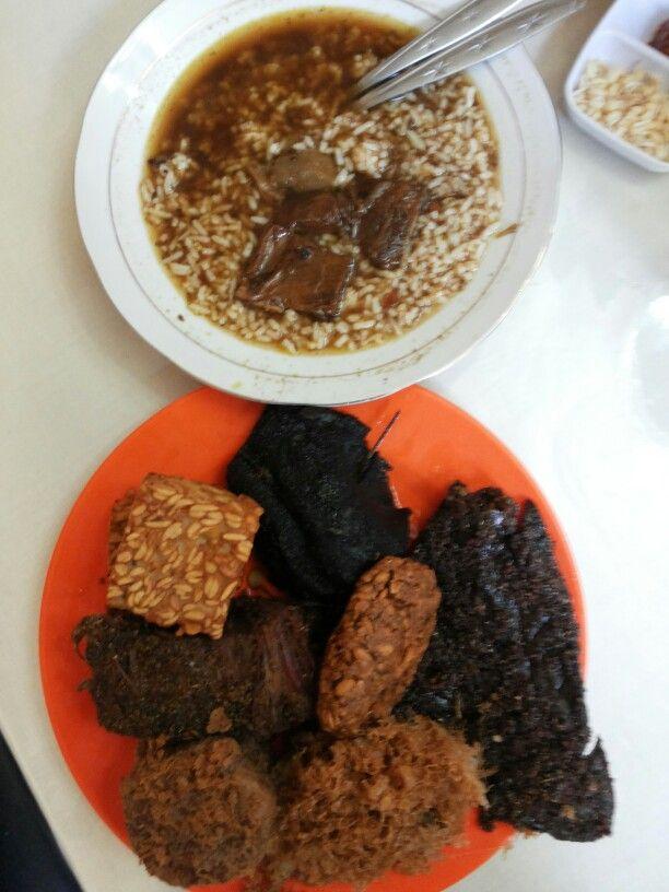 Meat soup , Rawon @ Nguling, Malang ~ East Java