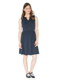 Jerseykleid night blue
