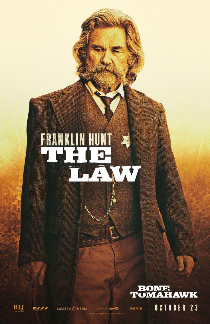 Bone Tomahawk (2015) - Kurt Russell as Sheriff Franklin Hunt