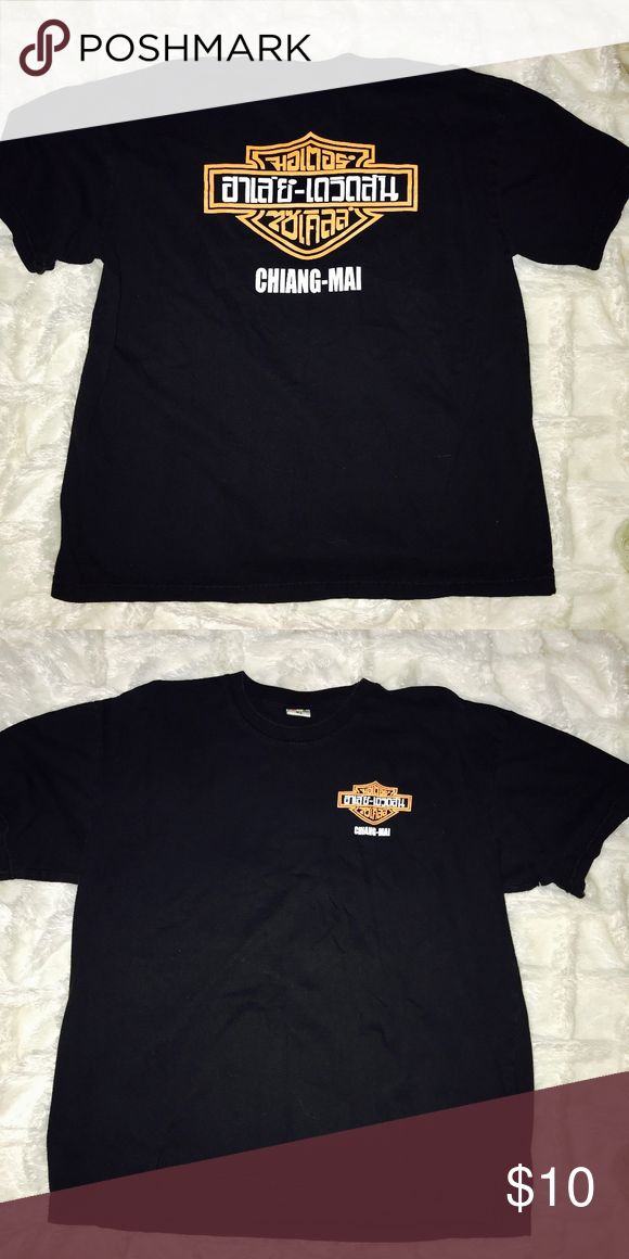 Harley-Davidson Vintage Tee T-shirt! Harley-Davidson Vintage Tee T-shirt! Great for DIY   Chiang Mai   # Distressed # Nascar # Harley Davidson # LF # Vintage # 90's # Rock & Roll # Chevy # American Made # Band # Concert # Furst of a Kind # Oversized # Unisex #motorcycle Harley-Davidson Shirts Tees - Short Sleeve
