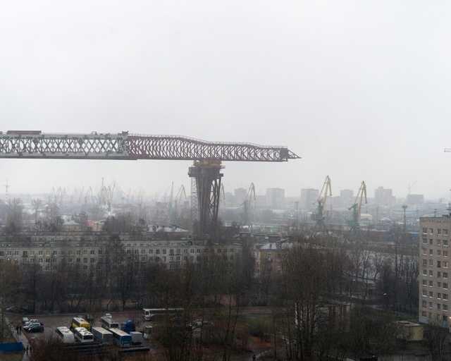 Строительство дороги в Санкт-Петербурге