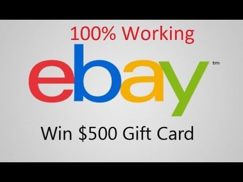 free ebay gift card codes -how to get free ebay gift card