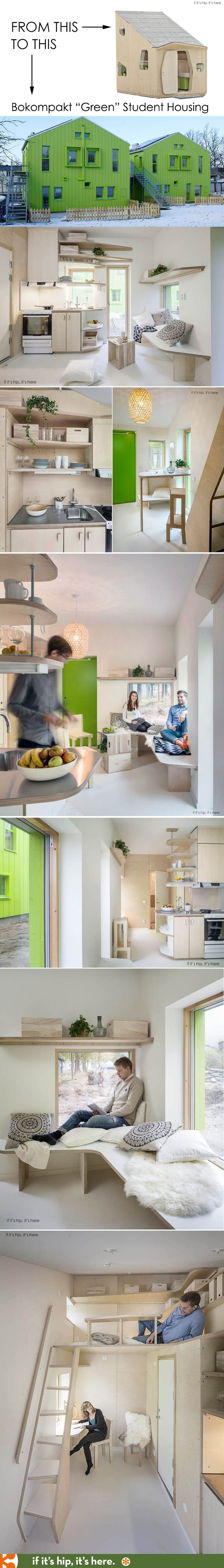 Elegant Bokompakt Student Housing Completed In Oct 2014 Are Modern, Eco Friendly  Apartments For Lund University Students That Began As Tengbomu0027s 10 Sqm  Micro House. Awesome Ideas