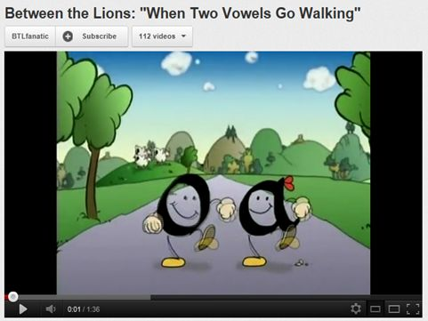 vowel teams video