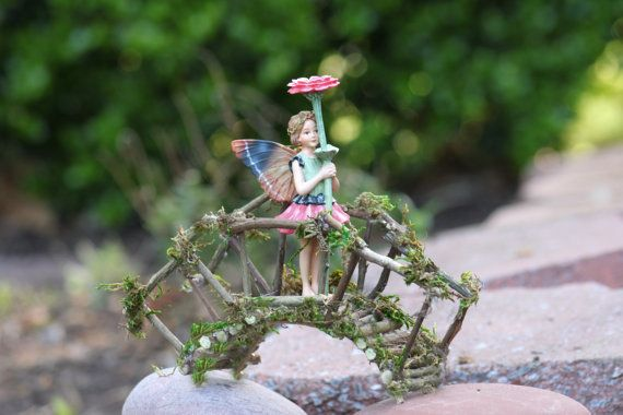 Fairy Rickety Bridge Handcrafted by Olive by OliveNatureFolklore