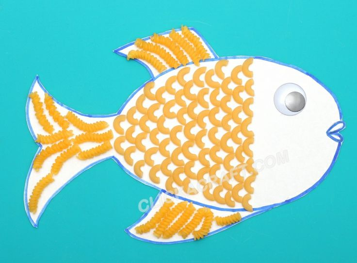 118 best images about zomer knutselen on pinterest for Fish art and craft