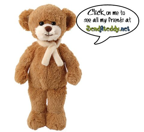 Stora Bukowski Teddy Bear