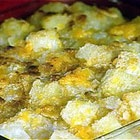 Pineapple Cheese Casserole. Great for potlucks. Can easily change the mounts of sugar and butter to suit your taste.