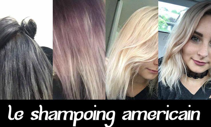J'ai testé : Le Shampoing Américain ! (sur Cheveux Gris)