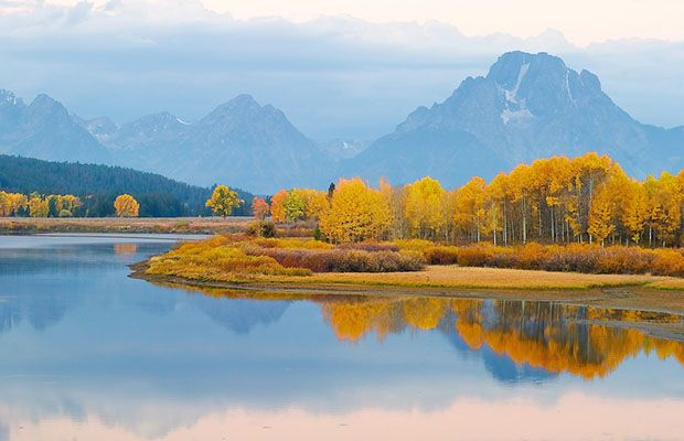 Jackson Hole Marathon. This is a marathon-must for me! - The 15 Best Fall Marathons in the U.S. - Life by DailyBurn
