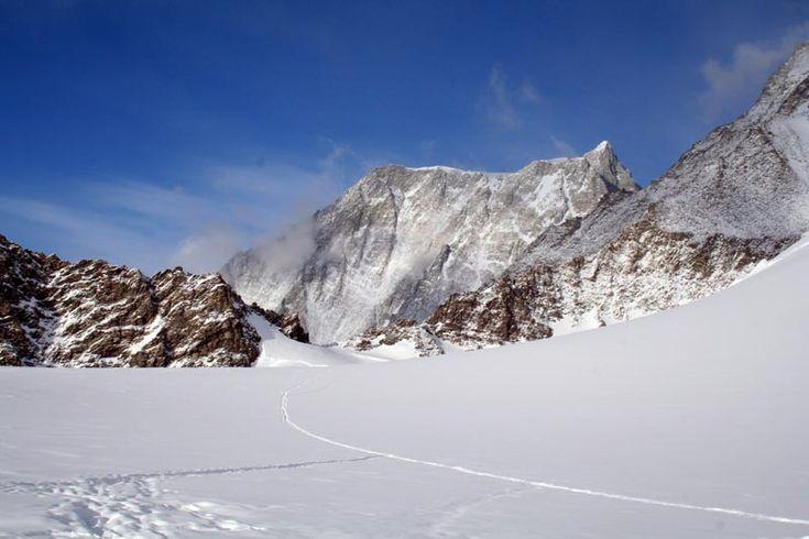 punto más alto en la Antártida Macizo Vinson