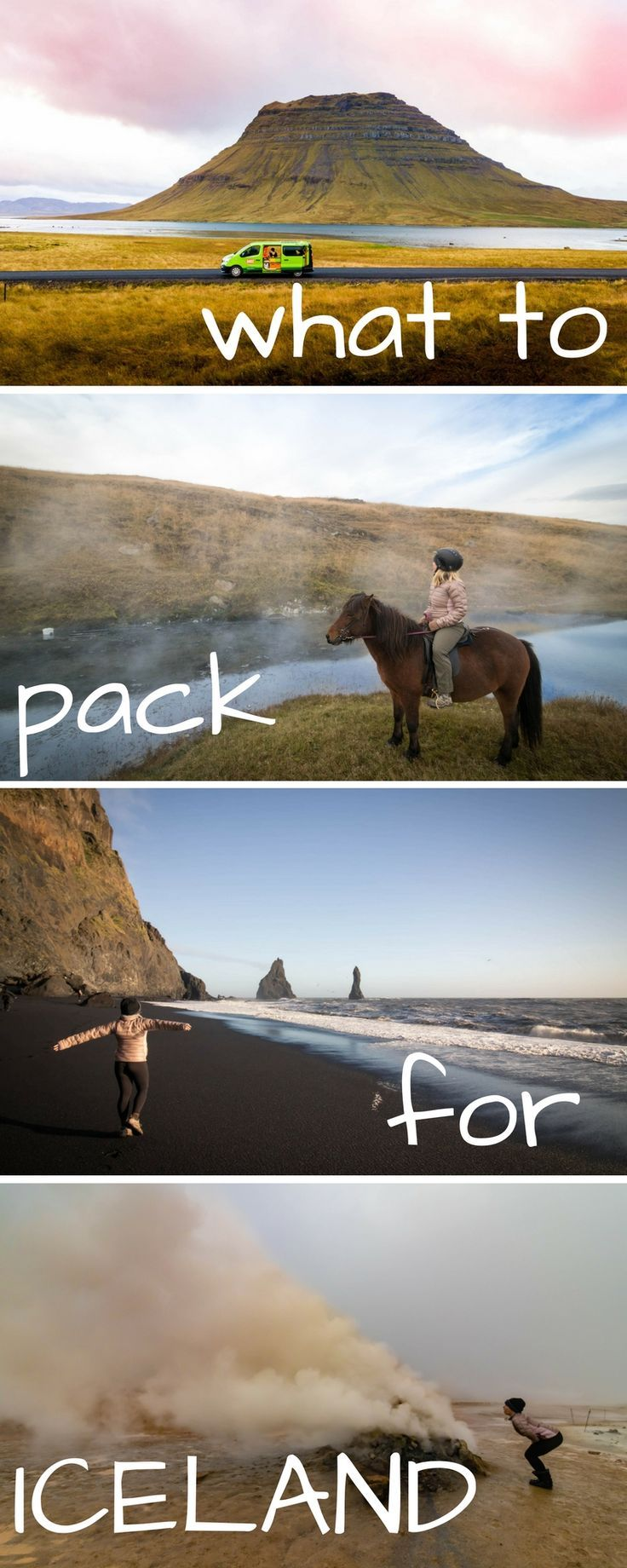 All you need to pack in your luggage for your travel to Iceland. Enjoy your Iceland holiday!