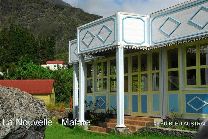 creole house, reunion island