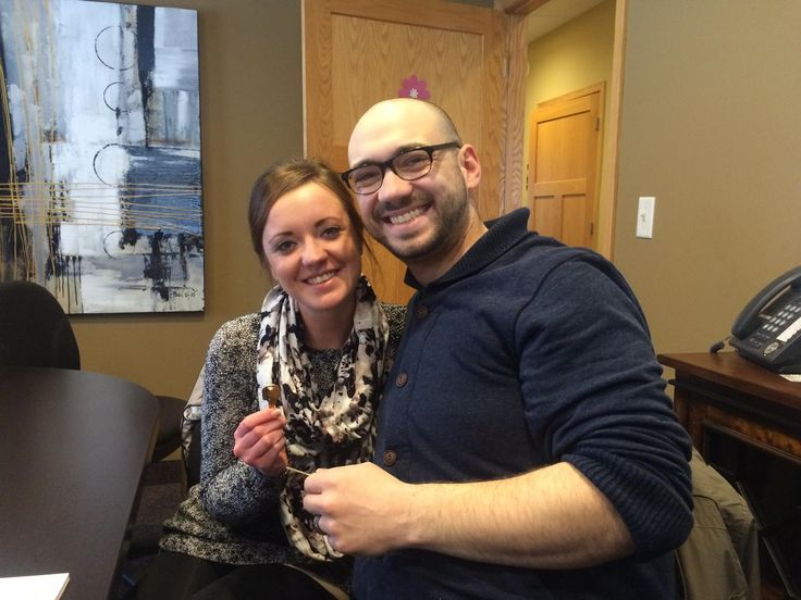 Newlyweds and homeowners! It's been a big year for Jeff & Shannon.