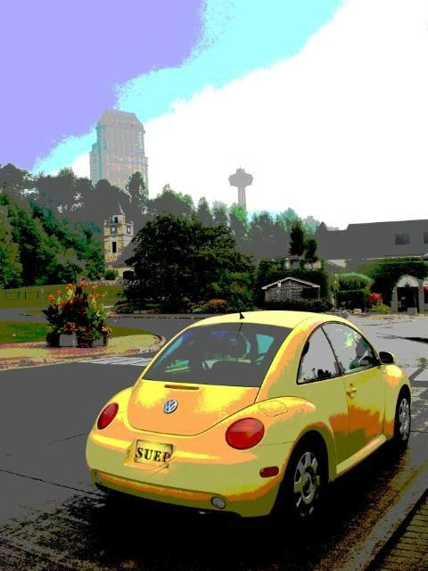My VW Bug in Niagara Falls ... from 'SuePetriPhotos' on Lilyshop for $45.00