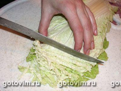 Картинки по запросу салат из китайской капусты
