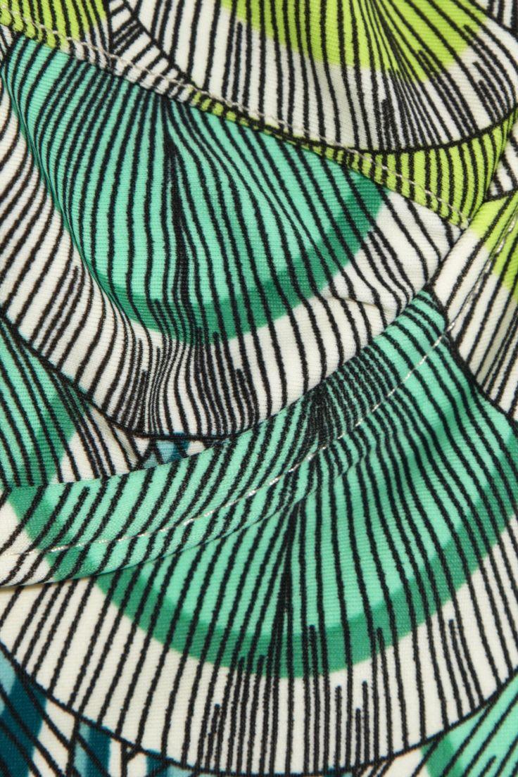 Mara Hoffman Feather-print underwired bikini  NET-A-PORTER.COM