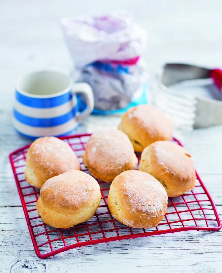 Sunday scones a tradition in your house? Then you have to try this recipe!