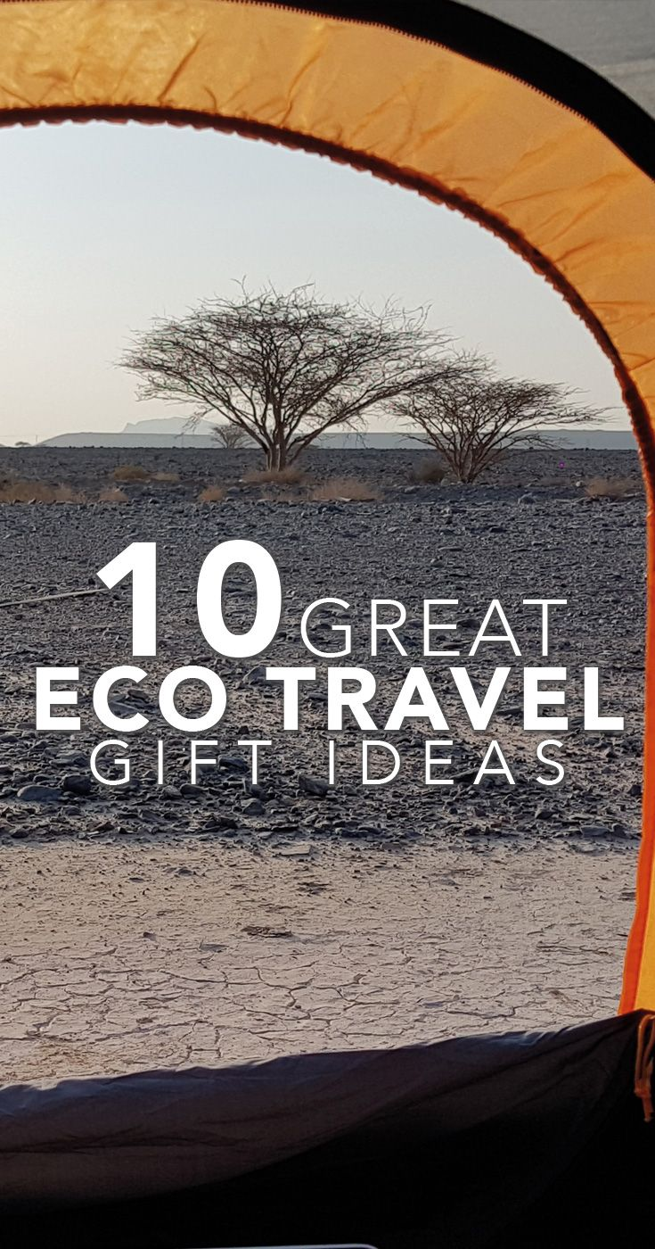 Buy these eco gifts and support great causes and Sustainable tourism...