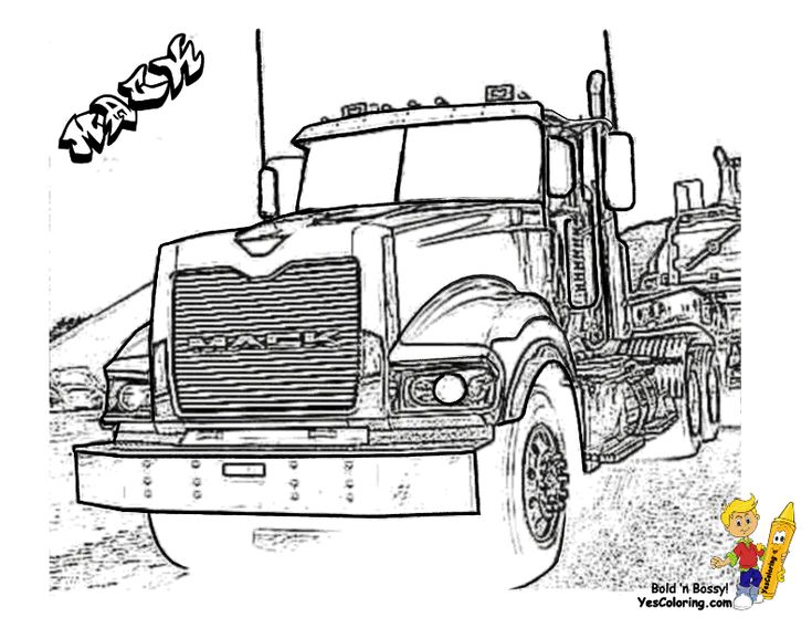 50 best images about free tough truck coloring pages on pinterest