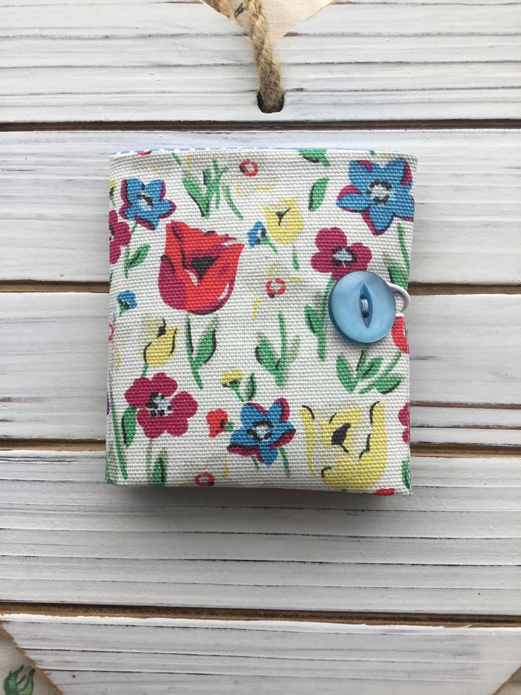 Teabag Wallet made with Cath Kidston fabric by Flowerhead2 on Etsy