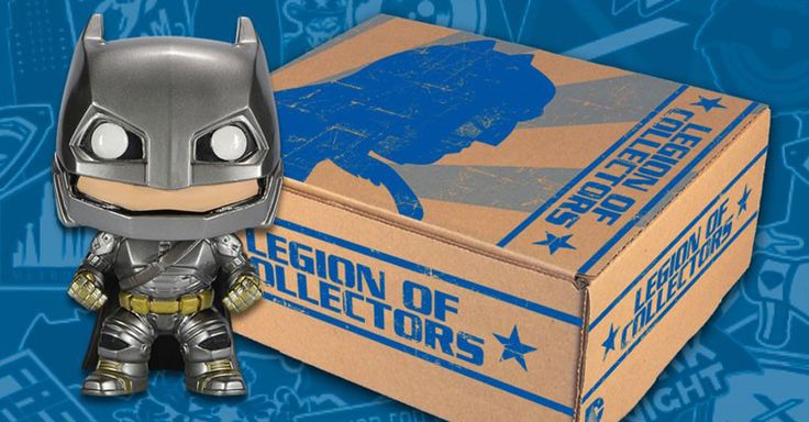 The DC Comics-themed Legion of Collectors will debut in March with a box featuring exclusive merchandise for