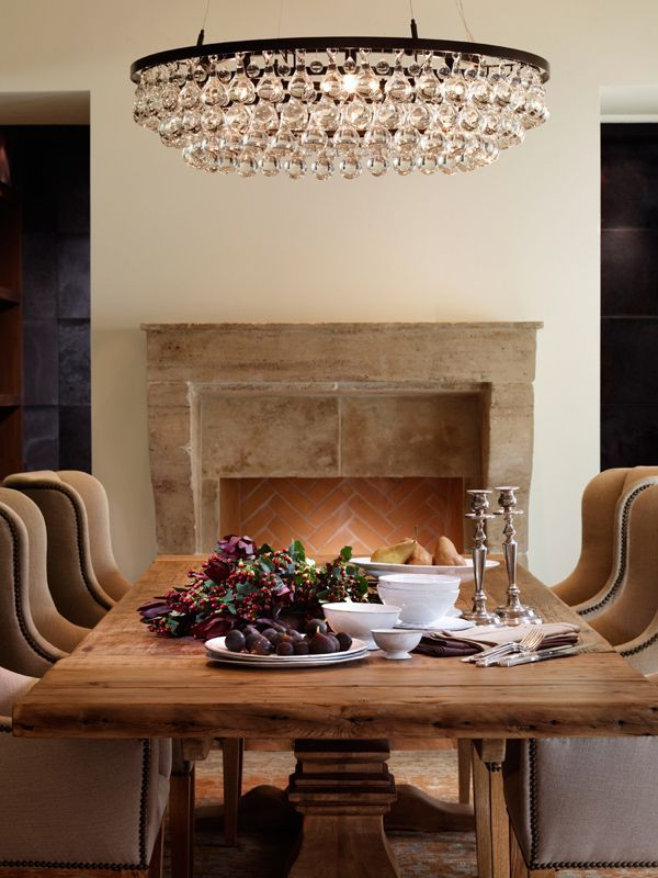 Chandelier | Dining Room | Fresh Farmhouse | Dining room ...