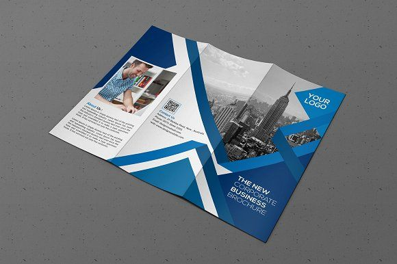 Tri-fold Brochure by designsoul14 on @creativemarket