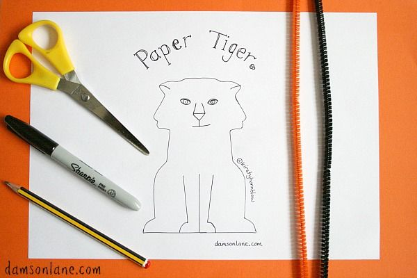 The Tiger Who Came to Tea Activity