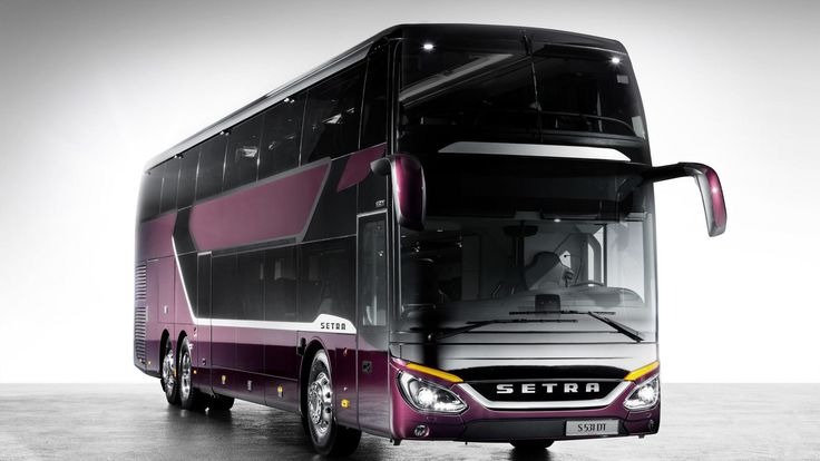 Setra Double-Decker Bus Has Got Some Unique Features  Daimler is now showing off with its Setra double-decker. The model is pretty spacious inside and it has also got enhanced aerodynamics. Setra double-decker is dubbed S 531 DT and it looks like a fancy box with an amazing design. The bus has also got this unique Viola Pyxis color. It is 14 meters...
